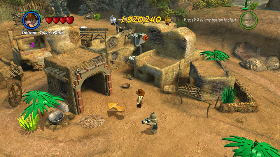 LEGO Indiana Jones 2: Temple of Doom - Treasure Levels